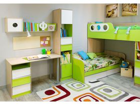 """Детская комната для двоих детей подростков """"Беби Бум"""" в нескольких цветовых решениях"""