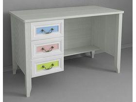 """Детский письменный стол с тумбой из коллекции """"Классика Карамель"""""""