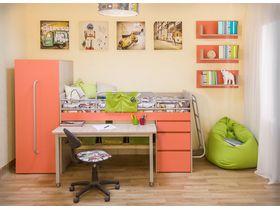 """Компактная мебель для детской комнаты """"Минимакс"""""""