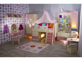 """Мебель для детской комнаты девочки """"Принцесса"""""""