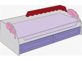 Кровать под матрас 80*200 см