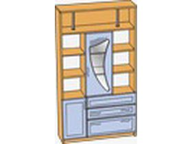 Шкаф с нишей