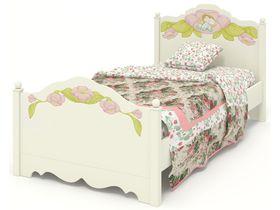 """Кровать в нескольких размерах из массива БУКА и МДФ из коллекции """"Эльфы"""""""