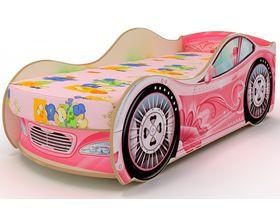 """Кровать машина для девочек """"Цветок"""""""