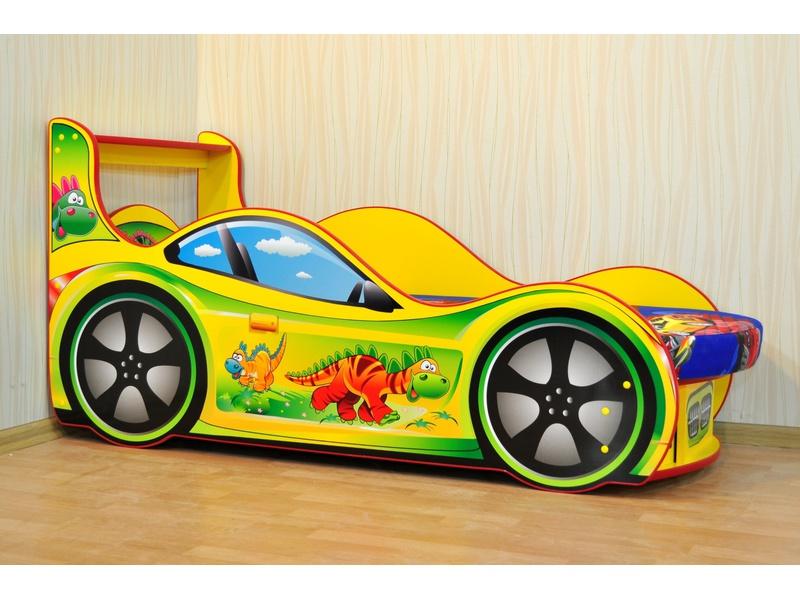 """Кровать в виде машины """"Динозаврик"""""""
