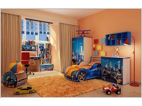 """Детская комната """"Полиция в бежевом корпусе"""""""