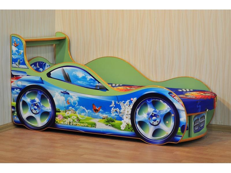 """Кровать машина """"Природа"""""""