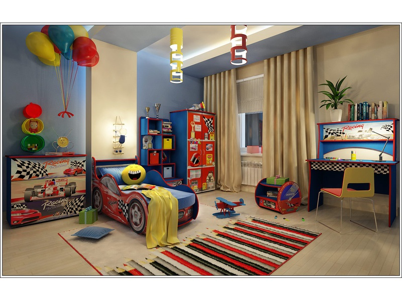"Детская комната ""Ралли"""