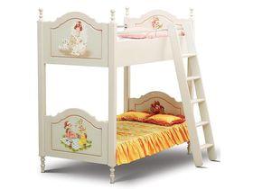 """Кровать 2-х ярусная """"Любимая сказка, Французские мотивы"""" в нескольких цветах"""