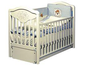 Детская кроватка-маятник Gioco LUX