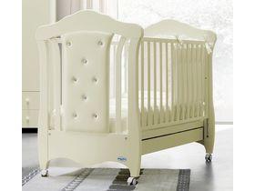 Детская кроватка — качалка Mimi pelle (эко-кожа)