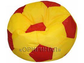Кресло-мяч детское желто-красное