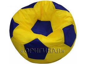 Кресло-мяч детское желто-синее