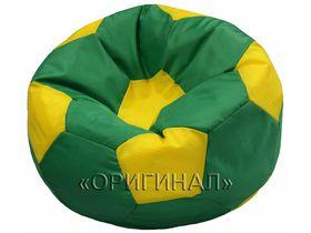 Кресло-мяч детское зелено-желтое