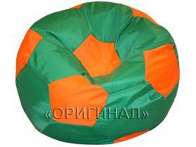 Кресло-мяч детское зелено-оранжевое