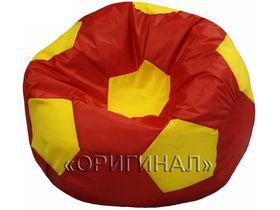 Кресло-мяч детское красно-желтое