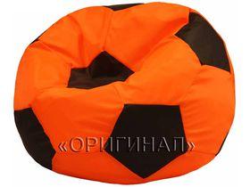 Кресло-мяч детское оранжево-коричневое
