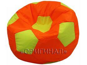 Кресло-мяч детское оранжево-салатовое