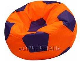 Кресло-мяч детское оранжево-синее