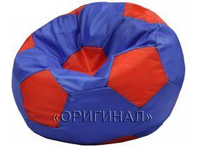 Кресло-мяч детское сине-красное