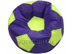 Кресло-мяч детское фиолетово-салатовое