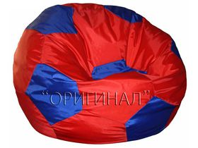 Кресло-мяч большое красно-синее