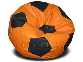 Кресло-мяч большое оранжево-черное