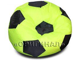 Кресло-мяч большое салатово-черное