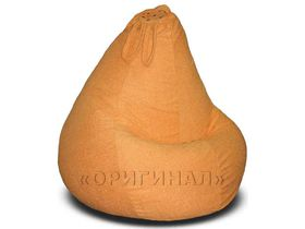 Кресло-мешок велюр оранжевое
