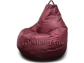Кресло-мешок полиэстер бордовое