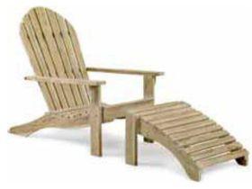Кресло с подставкой для ног OPAL