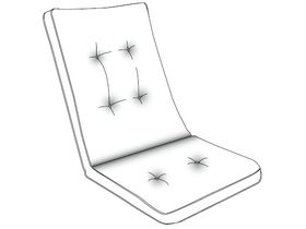 Подушка Vigo для стула/кресла