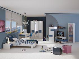 """Детская комната """"HiLight"""" в цвете голубой/белый"""