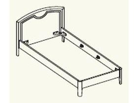 Кровать под матрас 90*200