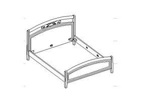 Кровать под матрас 160*200