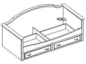 Кровать - диван с  2-умя ящиками