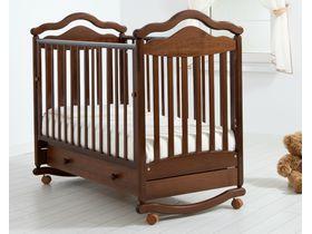 """Детская кроватка качалка-колесо """"Анжелика"""""""