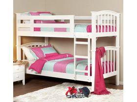 """Детская двухъярусная кровать """"Сфинкс"""" из массива бука под размер матраса 90*190"""