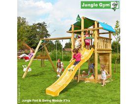 """Детский городок """"Jungle Fort & Swing Module X'tra"""""""