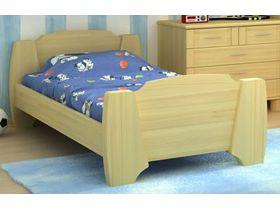 """Кровать из массива для детской """"Радуга"""""""