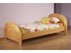 """Деревянная кровать в детскую комнату """"Радуга"""""""