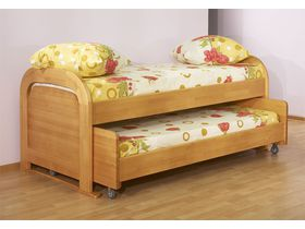"""Двухъярусная кровать для детской """"Радуга"""""""