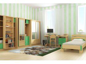 """Набор мебели из массива для детской """"Радуга 3"""""""