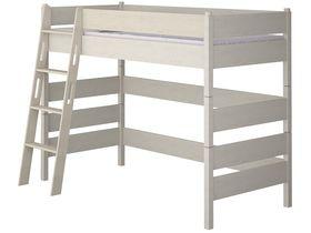"""Детская кровать-чердак 150 из массива сосны """"Каспер"""""""