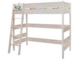 """Детская кровать-чердак 180 из массива сосны """"Каспер"""""""