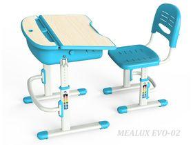 """Растущая парта и стул для школьника """"EVO-02"""""""
