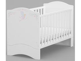 """Детская кроватка для новорожденных 140*70 см из коллекции """"ПРИНЦЕССА NEW"""""""