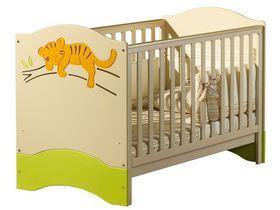 """Детская кроватка для новорожденных 140*70 см из коллекции """"Саванна"""""""