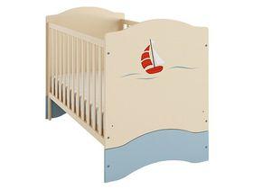 """Детская кроватка для новорожденных 140*70 см из коллекции """"Путешественник"""""""