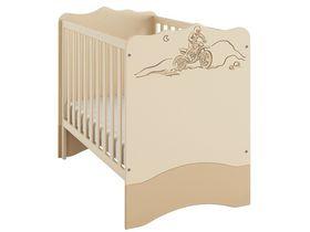 """Детская кроватка для новорожденных 120*60 см из коллекции """"ДАКАР"""""""